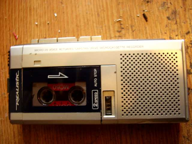 radio cassette enregistreur
